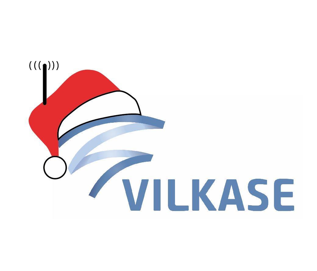 Vilkase tiimi toivottaa Rauhallista Joulua ja Onnellista Uutta Vuotta!